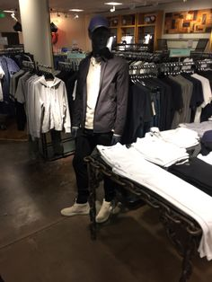 Gents hat with Rag & Bone at Nordstrom Santa Monica