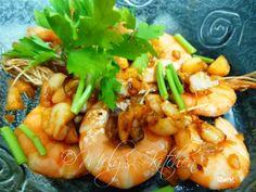 Mely's kitchen: Garlic Shrimps
