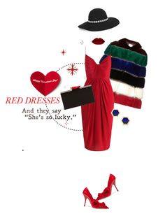 """""""Be my valentine!"""" by chloe-86 ❤ liked on Polyvore featuring Valentino, Miu Miu, Charlotte Olympia, Yves Saint Laurent, women's clothing, women, female, woman, misses and juniors"""