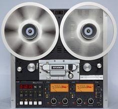 Studer A810 VU - Klick auf das Bild Home Studio Desk, Audio Studio, Tape Recorder, Hifi Audio, Boombox, Audio System, Diy Home Improvement, Audiophile, Pinterest Blog