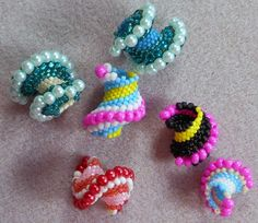 Video: How to make celini beads - #Seed #Bead #Tutorials