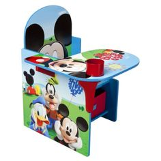 Delta Children's Products Mickey Mouse Chair Desk