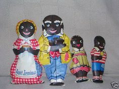 Antique Vintage Black Americana Aunt Jemima Oil Cloth by crazy4me, $1200.00
