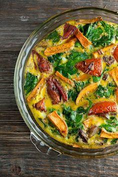 Roasted Vegetable Frittata - Framed Cooks