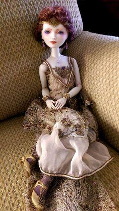 Art doll by Oksana Saharova