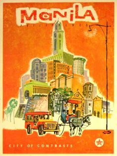 Original Vintage Posters Manila Philippines - AntikBar