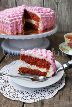 """Торт """"Красный бархат"""" (Red Velvet Cake)"""