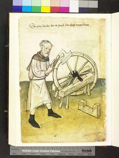 Uncertain name, wagonner, from Mendel Housebook, 1425