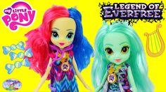 My Little Pony Equestria Girls Legend Of Everfree Lyra Bon Bon Surprise ...