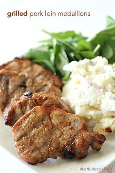 Looking for the best pork chop marinade? Look no further - this pork marinade couldn't be easier or more delicious! Pork Tenderloin Recipes, Pork Chops, Pork Recipes, Smoker Recipes, Family Recipes, Yummy Recipes, Recipies, Healthy Recipes, Grilled Pork Loin