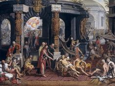 Although 'The Revelation' is the last book in the Bible it doesn't mean it was the last book to be written. It is important to take this into consideration when studying the 'last days'. #EndTimes #BiblicalProphecy - The Healing of the Cripple of Bethesda, Pieter Aertsen (1507-1575) Source: Art and the Bible