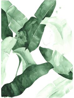 beverly-2-banana-leaf-tropical-watercolor-print-green-leaves-the-aestate-preview_1024x1024