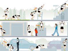 Urban workout....