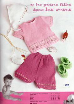 Розовый комплект для малышки. Обсуждение на LiveInternet - Российский Сервис Онлайн-Дневников