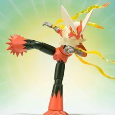 SH Figuarts Mega Blaziken Pokemon figure Bandai