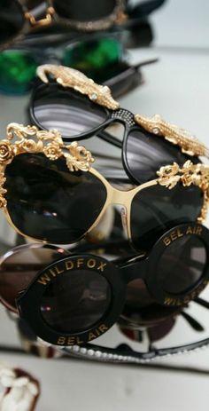 Black and gold Fashion Shades #Opticsbrights