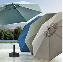 Member's Mark Sunbrella 10FT Market Umbrella (Spectrum Indigo)