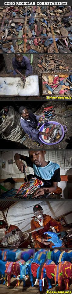 Mude o seu conceito sobre o lixo.