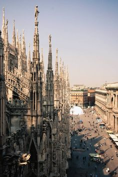 Milan cathedral, the opera and Galerias Victor Emanuel nearby. The rest is only revealed if you're with the locals....