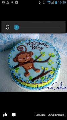 Monkey cake Corrie cakes