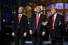 In his ongoing efforts to turn modern political campaigning into the most frightening dystopian satire in history, Donald Trump appeared on Saturday Night Live earlier this month — and now NBC is. Donald Trump Quotes, Donald Trump Pictures, Darrell Hammond, New Books, Good Books, List Of Presidents, John Kasich, Twitter Bio, Current President