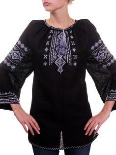 New Ukrainian Folk Embroidery Lady SHIRT Linen Pesant Ukraine Art Gift S - XXL