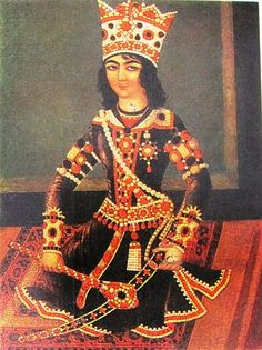 Qajar, Iran http://www.persianpaintings.com/qajargalleries/index.htm