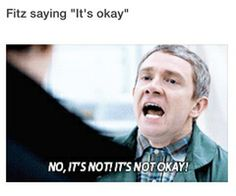 NO! IT'S NOT OKAY!!