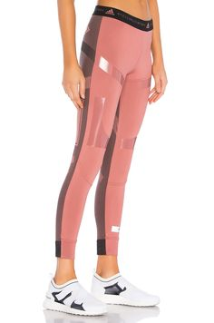 c167be4a6f adidas by Stella McCartney Run Ultra Legging in Coffee Rose Fitnesz Ruhák,  Pilates