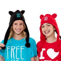 One Direction - One Direction Black and Teal Beanie Polar Fleece Hat http://www.onedirectionstore.com/1D-World/Accessories/One-Direction-Black-and-Teal-Beanie-Polar-Fleece-Hat/2FF9031N06S