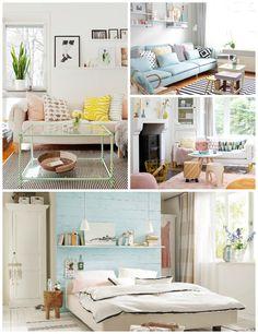 Pastel Interiors - Homey Oh My! #pastelinterior