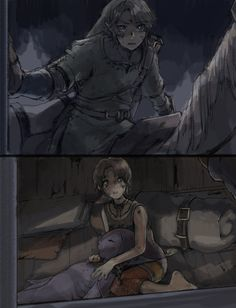 I felt so bad for Link in that part, that she had lost her memory and completely forgotten him.