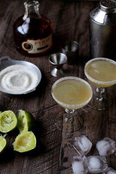 Vanilla-Sugar Lime Daiquiris
