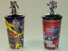 Vasos Transformers  #transformers #kids #colección