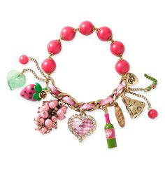 Betsey Johnson picnic bracelet