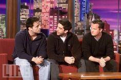 Matt Le Blanc, David Schwimmer and Matthew Perry