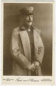 Wilhelm I, Prince and King of Albania,  German of course.