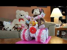 ▶ Diaper Cake Quad Runner For Girls - YouTube