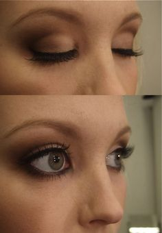 neutral makeup - Linda Hallberg