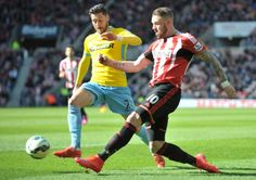 Connor Wickham in action for Sunderland during their 4-1 loss at the hand of Crystal Palace. Picture by FRANK REID