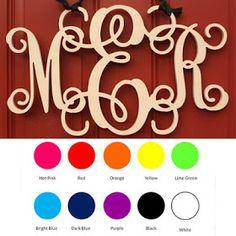 Sassy Steals - Handmade Deals Boutique Deals + Weekly Giveaway: Custom Wooden Monogram | $11.99