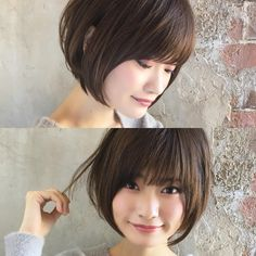 ショート/ボブ/美容師/似合わせ/小顔カット/山田さんはInstagramを利用しています:「ナチュラルショートボブスタイルはいかがでしょうか??✨ . 顔の形、髪質、ライフスタイルから似合う髪型を提案させて頂きます😊✨ . お悩みをお聞かせ下さい🙇✨ . 一緒にヘアスタイルを見つけましょう😊 .…」