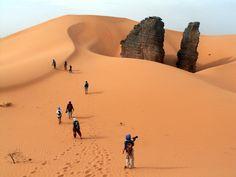 Algérie: Trek à Tisras / Algeria: Trek to Tisras / Argelia: Trekking a Tisras