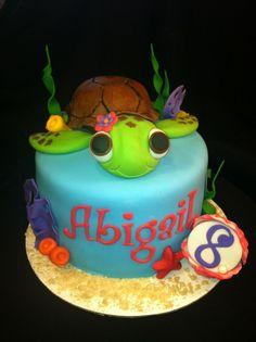 Sea Turtle Birthday Cake                                                                                                                                                                                 More