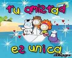 Tu amistad es única: La amistad es un don que se consigue con simpatia Friends Forever, Princess Peach, Diy And Crafts, Friendship, Inspirational Quotes, Character, Amor, Friendship Sms, Happy Bday Wishes