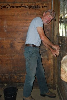 Bob ... Working around the Horse Farm! 2011