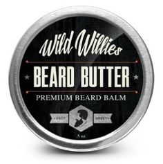 Beard Balm Conditioner For Men -Wild Willies Beard Butter-Amazing Beard Balm with 13 Natural Locally Sourced Ingredients to Condition and Treat Your Beard or Mustache At the Same Time.