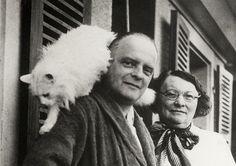 Paul Klee et son chat Bimbo