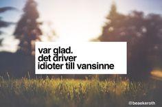 glad!