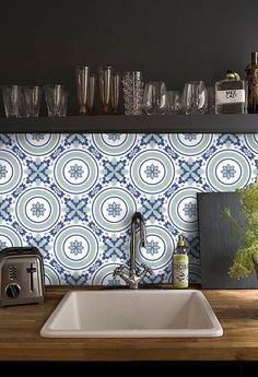 cuisine salle de bains carrelage stickers vinyle par snazzydecal - Stickers Tuile Vinyle Salle De Bain